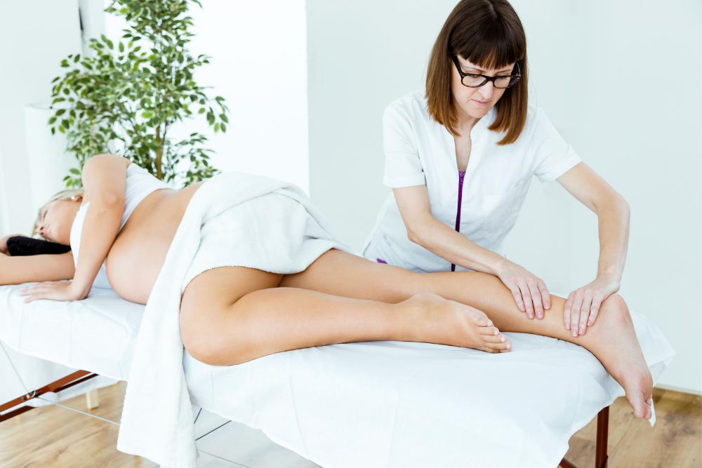prenatal massage in Kings Hill